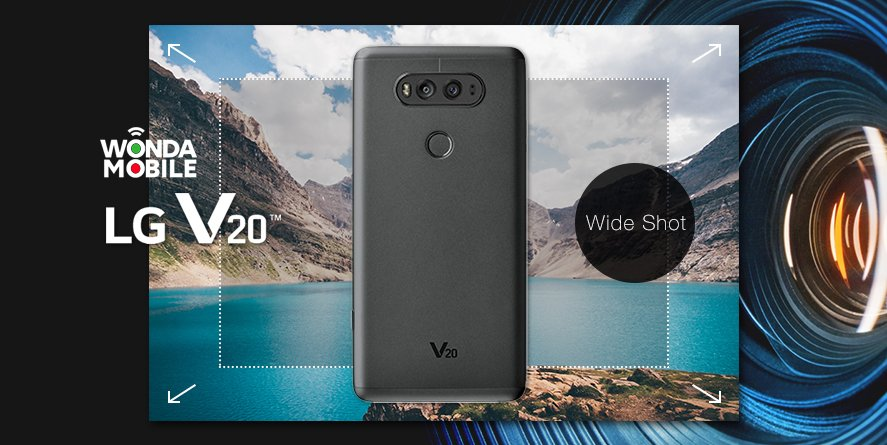 LG V20 (F800) 64GB Nano SIM (Free B&O Headphone) Quad Core Snapdragon 820 QHD Smartphone Unlocked and Sim Free