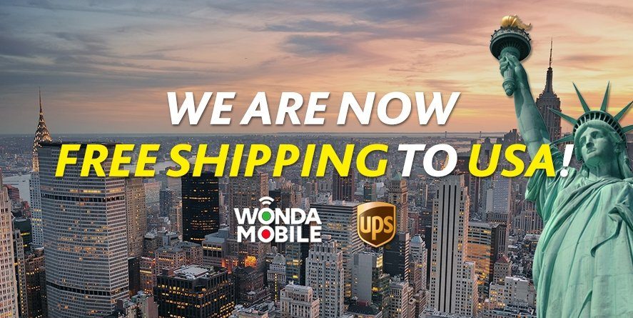 Now, we are now shipping to USA