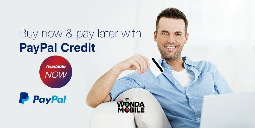 buy now and pay later with paypal credit