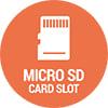 Micro SD card slot
