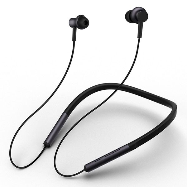 Xiaomi Bluetooth Collar Earphone Sport | Wireless Bluetooth Headset with Mic Play - Blac