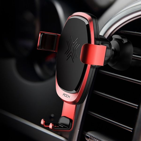 ROCK Wireless Quick Charge 10W Gravity Car Phone Holder