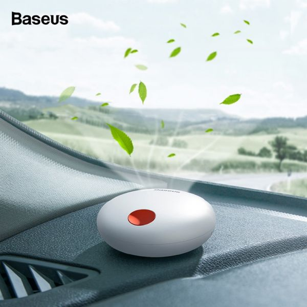 Baseus Car Air Freshener Rechargeable Aromatherapy Clean Auto Solid Perfume Diffuser Flavoring For Home / Car Interior