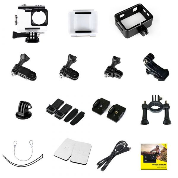 Action Camera Ultra 4K 60FPS £39