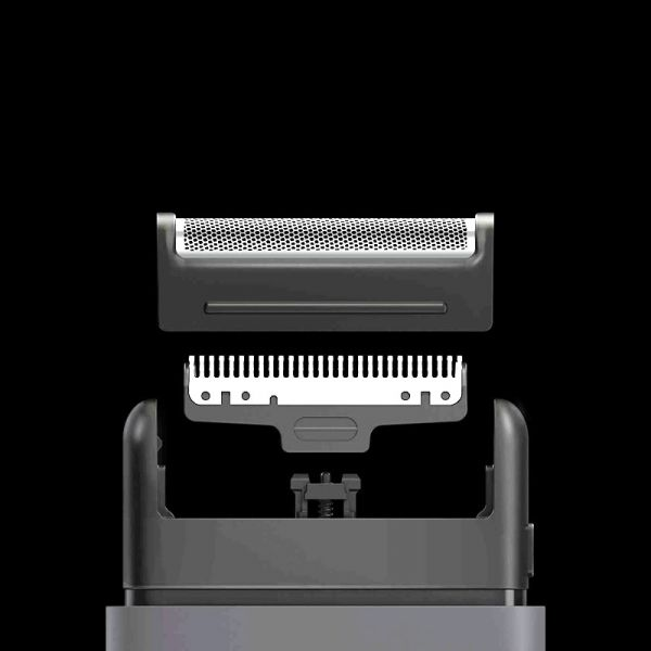 Xiaomi Mijia Electric Shaver Razor | Mini Portable Shaver Japan Steel Cutter Head | Metal Body USB Type-C Big Battery Face Shaving