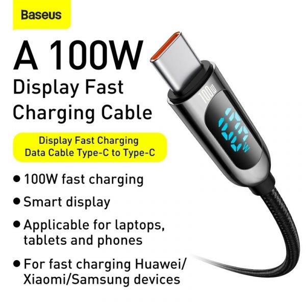 Baseus PD 100W Type C Cable