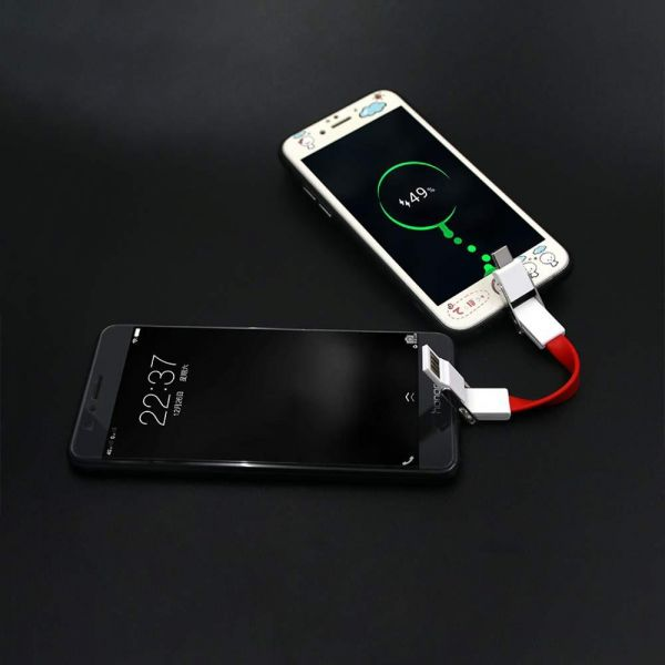 6-in-1 Data / Charger Cable with Keychain