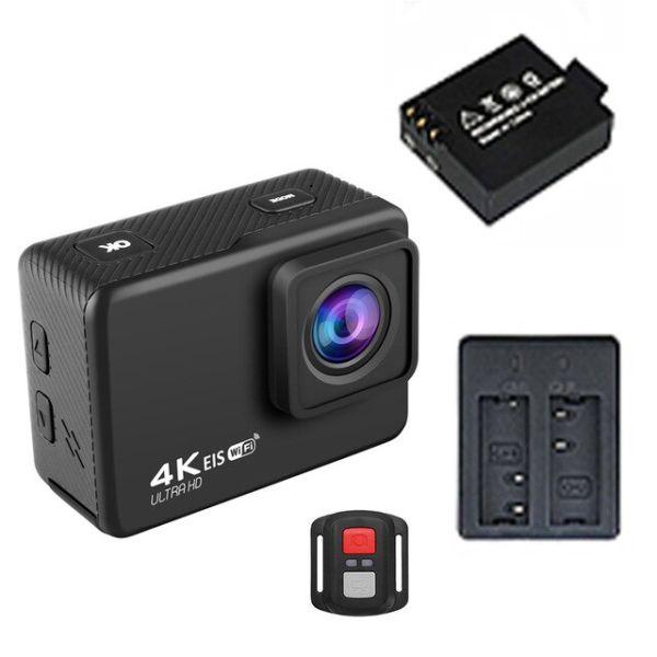 Action Camera Ultra 4K 60FPS-White-Bundle2