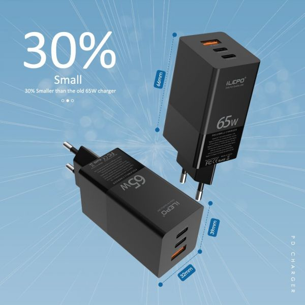 GAN 65W Charger