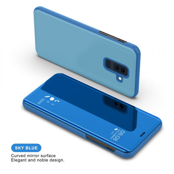 Mirror Surface Cover Case - A9 - Blue