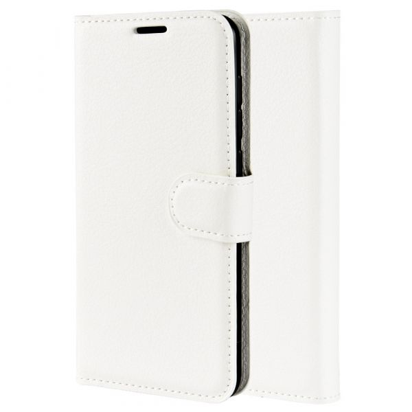 Leather Cover Case - 6T - White