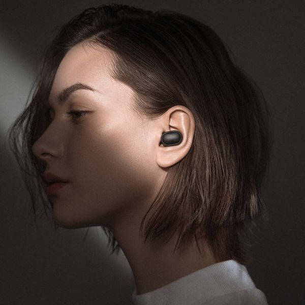 Xiaomi Redmi Airdots Black Bluetooth Earphones | Wireless Headphones Bluetooth 5.0 Headset