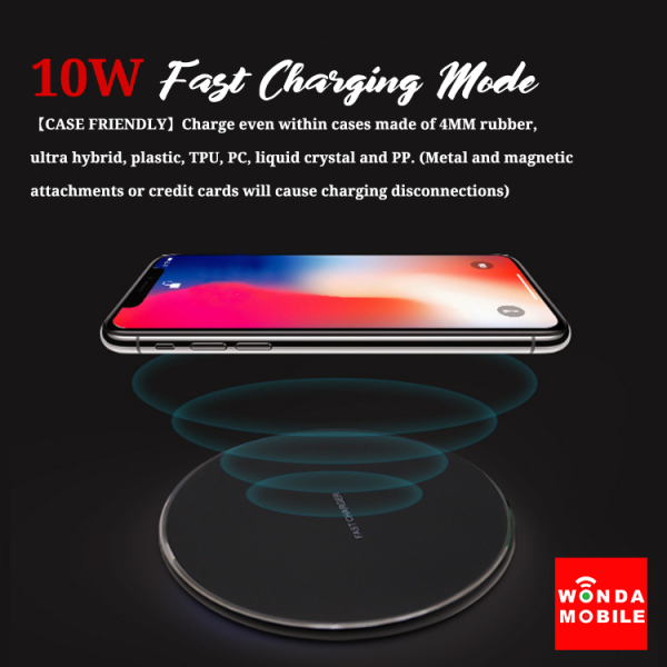 Starry Star 10W Ultra thin FastWireless Charger Pad (Est. 16-18 working days)